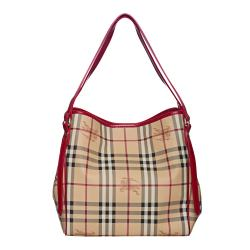 Burberry 3799356 Small Haymarket Canterbury Tote