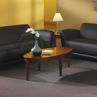 Mayline Sorrento Oval Coffee Table