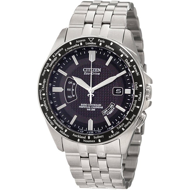 Citizen Eco-Drive Men's Atomic Timekeeping Watch