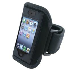 BasAcc Black Armband for Apple iPhone 4S/ 3GS