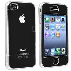 INSTEN Clear Snap-on Crystal Phone Case Cover for Apple iPhone 4/ 4S