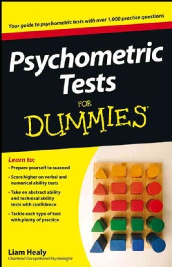 Psychometric Tests for Dummies (Paperback)