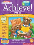 Achieve! Pre-K: Building Skills for School Success: Ages 3-4 (Paperback)