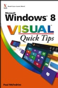 Windows 8 Visual Quick Tips (Paperback)