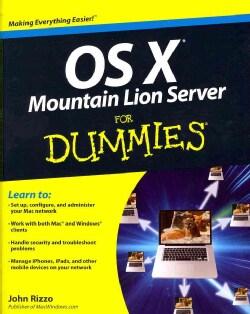 OS X Mountain Lion Server for Dummies (Paperback)