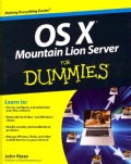 OS X Mountain Lion Server for Dummies (Paperback)