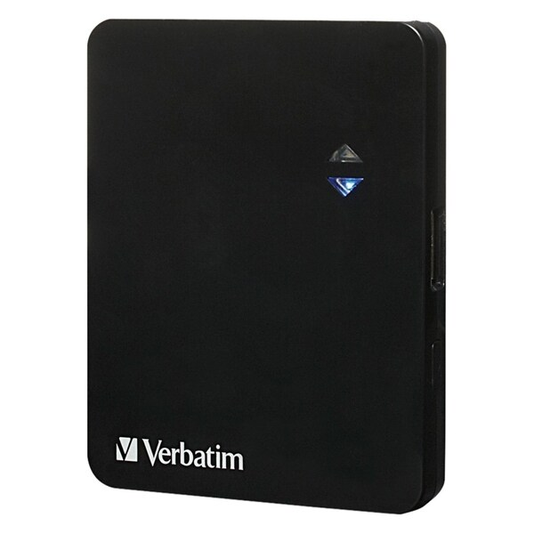 Verbatim Ultra-Slim Power Pack, 1200mAh - Black 9014789