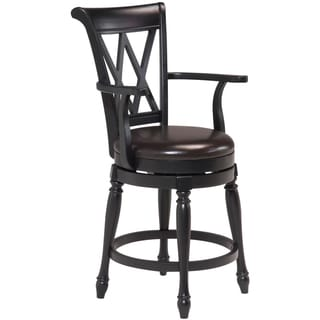 Monarch Bar Stool Black Finish