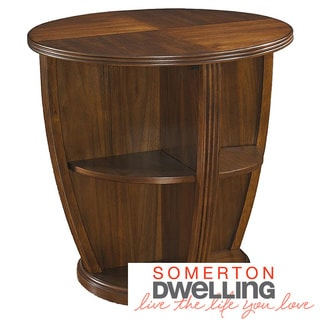 Somerton Dwelling Gracious Living Round Lamp Table