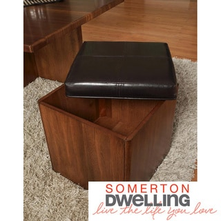 Somerton Dwelling Opus Bicast Square Stool