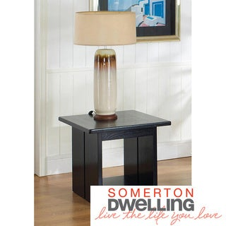 Somerton Dwelling Ebony End Table