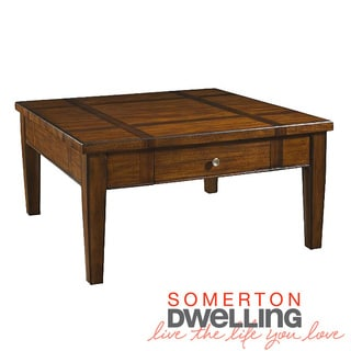 Somerton Dwelling Runway Square Cocktail Table