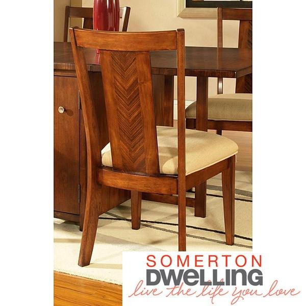 Somerton Dwelling Runway Gate Leg Side Chairs (Set of 2)