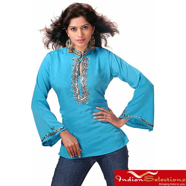 Blue Kurti/Tunic (India)