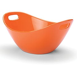 Rachael Ray Serveware 15-inch Salad Bowl, Orange