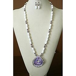 'Nights in Rodanthe' Necklace Earring Set