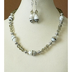 'Graystoke' Necklace and Earring Set