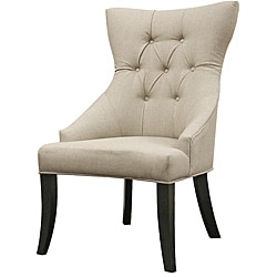 Daphne Beige Linen Dining Chair