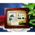 American Coin Treasures New York Times Titanic Collection in Wood Display Case