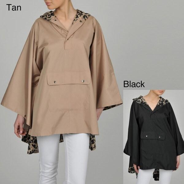 Pak-a-Jak Women's Hooded Rain Poncho