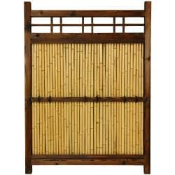 Japanese Bamboo 4x3-foot Kumo Fence (China)