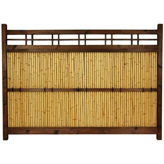 Japanese Bamboo 4x5.5-foot Kumo Fence (China)