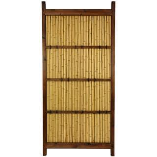Japanese Bamboo 6x3-foot Kumo Fence (China)