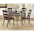 Bordeaux Espresso 5-piece Dining Set