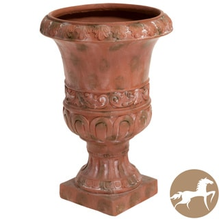 Christopher Knight Home Antique Green Turkish 26-inch Urn Planter