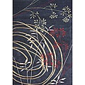 Alliyah HandmadeBlack New Zealand Blend Wool Rug (8' x 10')