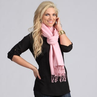 Peach Couture Silk Blend Baby Pink Wrap