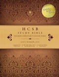 HCSB Study Bible: Teal/Taupe Simulated Leather With Stitching (Hardcover)