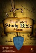 HCSB Illustrated Study Bible for Kids: Blue LeatherTouch (Paperback)