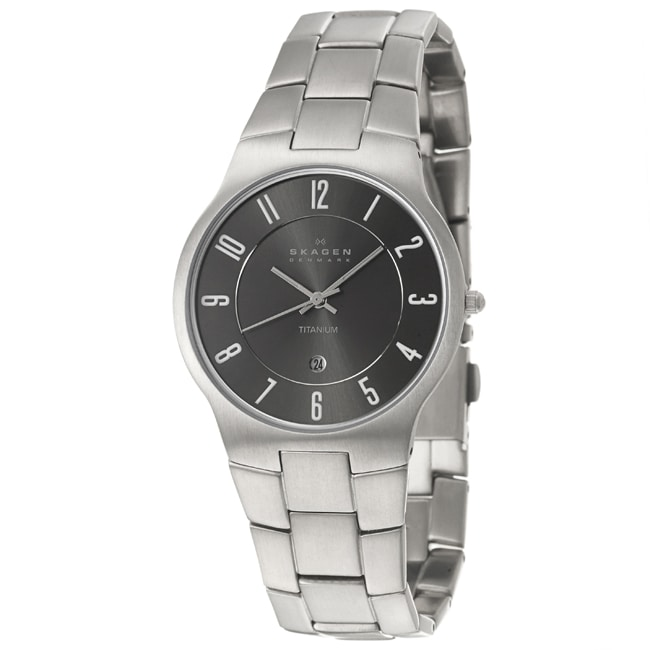 Skagen Men's 'Titanium' Quartz Watch