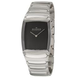 Skagen Men's 'Swiss' Stainless Steel Quartz Watch