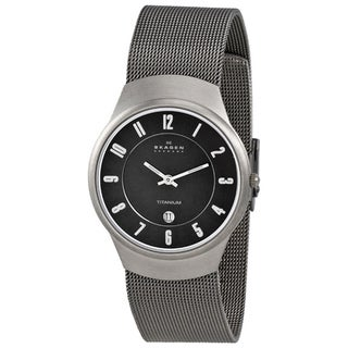 Skagen Men's Titanium Mesh Band Watch