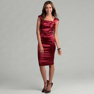 London Times Women's New Sangria Sheath Dress FINAL SALE