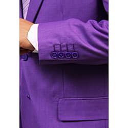 Ferrecci's Men's Purple 2-button Suit