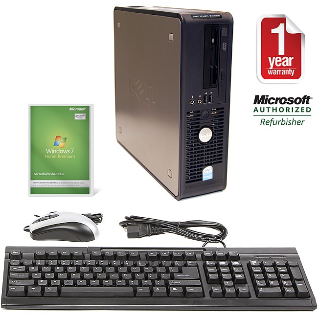 Dell OptiPlex GX620 3.2GHz 500GB SFF Computer (Refurbished)
