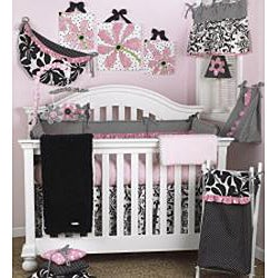 Cotton Tale Girly 4-piece Crib Bedding Set