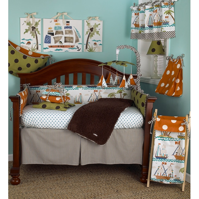 Cotton Tale Aye Matie 4-piece Crib Bedding Set