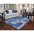Beaufort Denim Blue Full Rug (5'0 x 7'6)