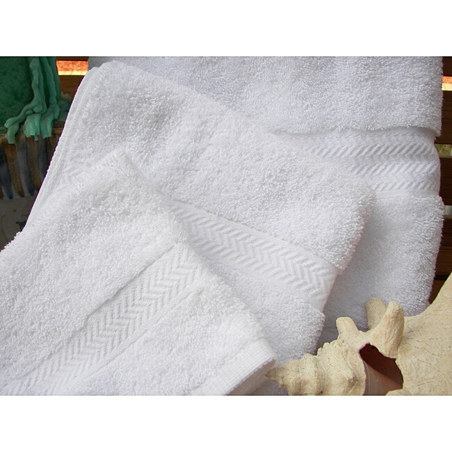 Grandeur 100-percent Cotton Hospitality Washcloth (Set of 100)
