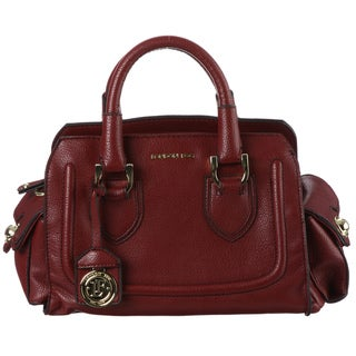 London Fog 'Suffolk' Red Satchel Handbag