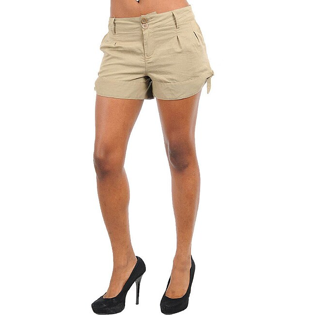 Stanzino Women's Khaki Summer Shorts