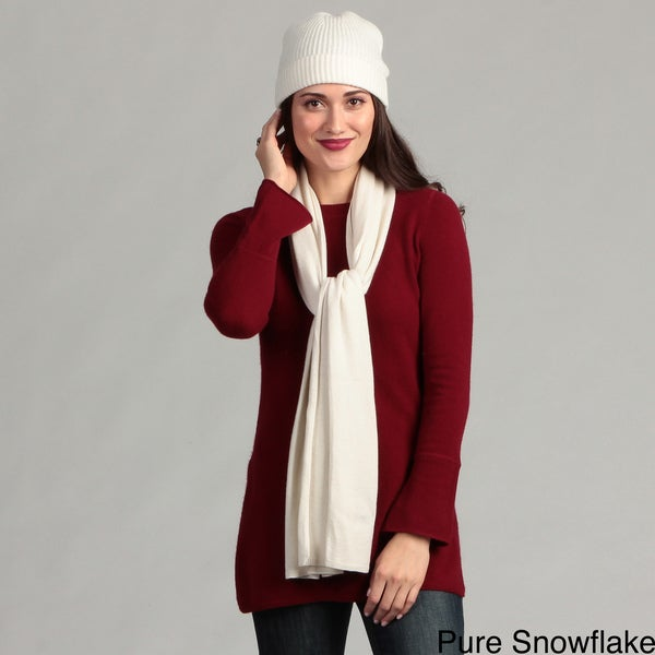 Oliver & James Cashmere Scarf and Hat Set