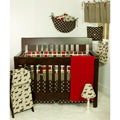 Cotton Tale Houndstooth 8-piece Crib Bedding Set
