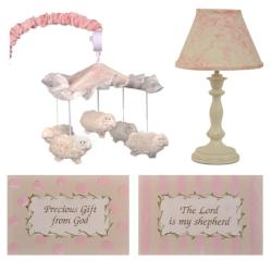 Cotton Tale Heaven Sent Girl Decor Kit