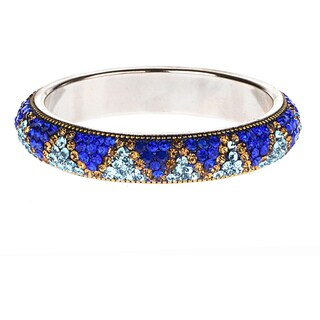 Blue Artisan Crystal Bracelet (India)
