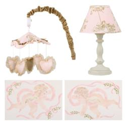 Cotton Tale Lollipops and Roses Decor Kit